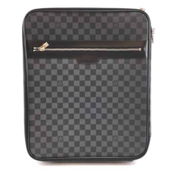 Louis Vuitton Handbags - Pegase 45 Roller Luggage Suitcase Travel Bag